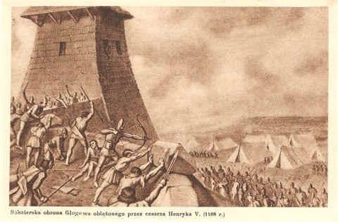 obrona Głogowa